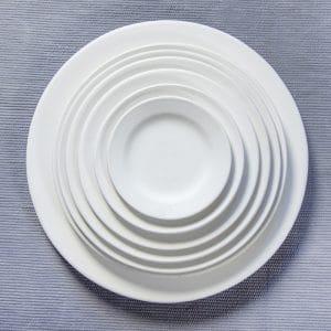 Plato Ala de Cerámica artesana en Oropesa